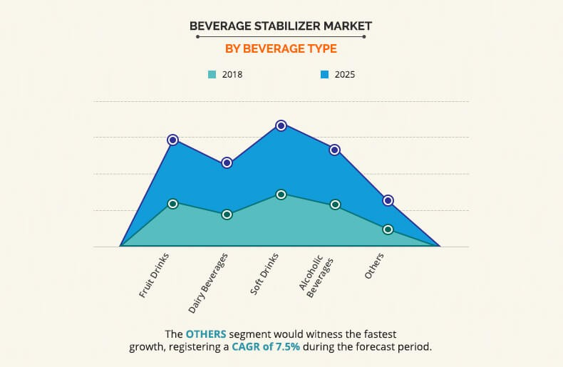 Beverage Stabilizer Market by Beverage type