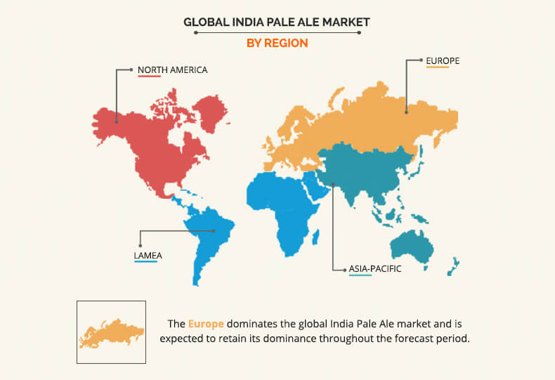 India Pale Ale Market By Region