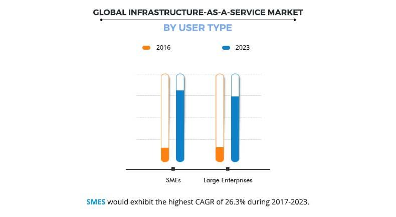 Infrastructure-as-a-Service Market by User Type