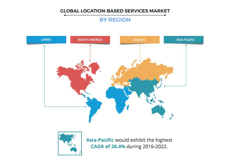 Location Based Services Market Regional Analysis
