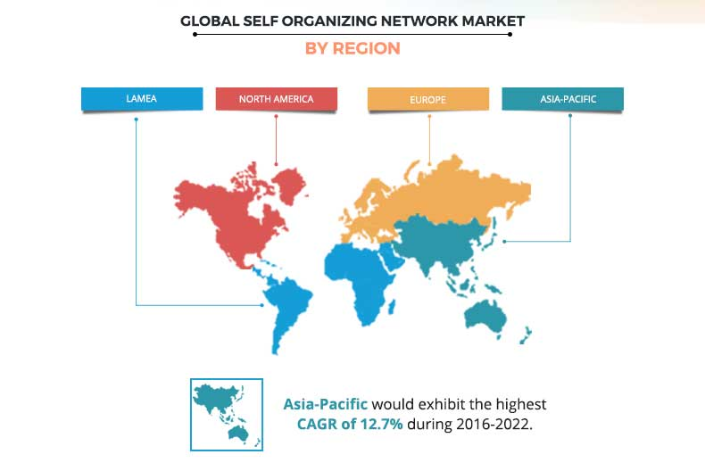Self Organizing Network Market by Region
