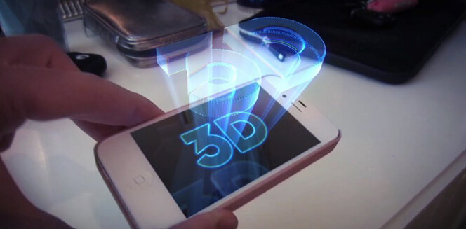 3d Holographic Projection Technology Projects Future of Screenless