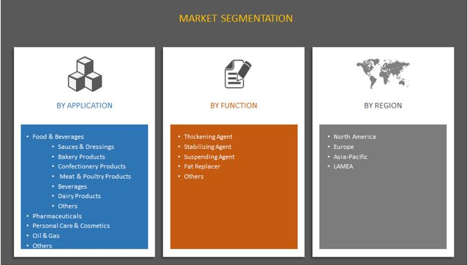 Global Xanthan Gum Market Segmentation