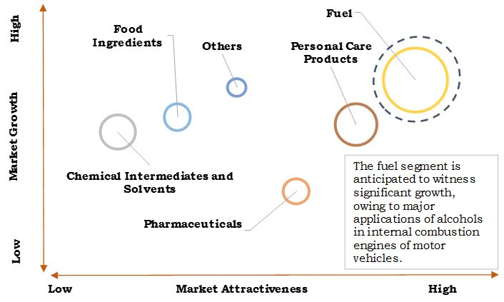 Industrial Alcohols Market Top Investment Pockets