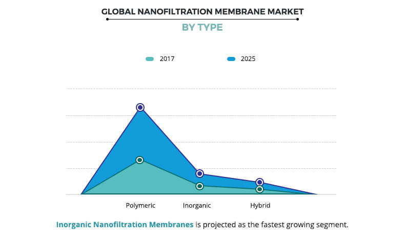 Nanofiltration Membrane Market, By Type